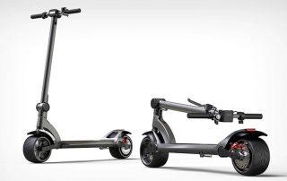 fluid freeride folding electric scooters